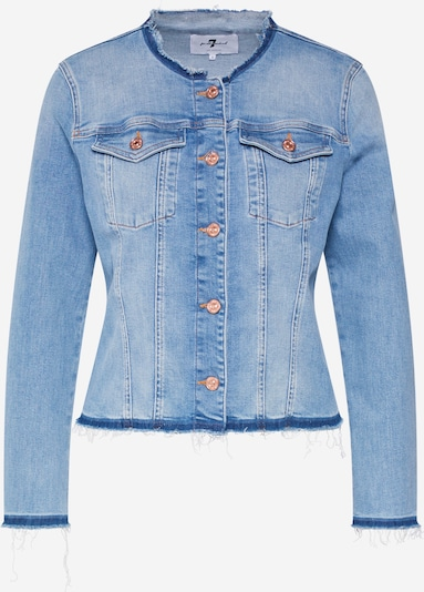 7 for all mankind Tussenjas 'DENIM JACKET SLIM ILLUSION DEPARTED' in de kleur Blauw denim, Productweergave