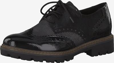 MARCO TOZZI Zapatos con cordón en negro, Vista del producto