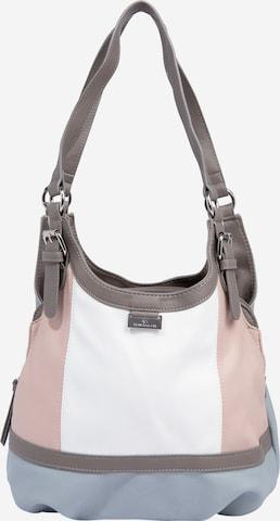 TOM TAILOR Tasche 'Juna' in Pink