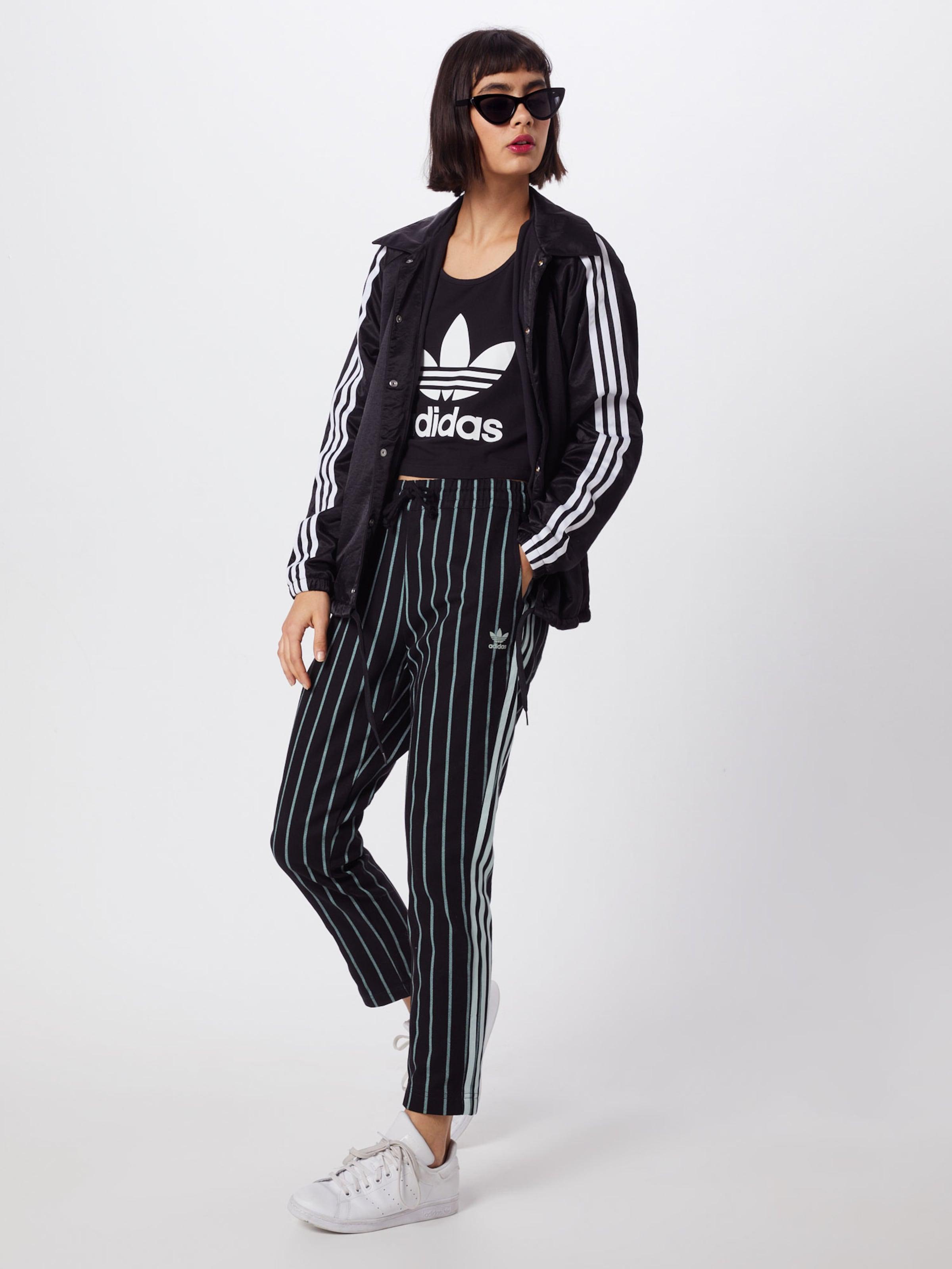 Hose Adidas GrünSchwarz 'track Pants' In Originals roeWdCxB