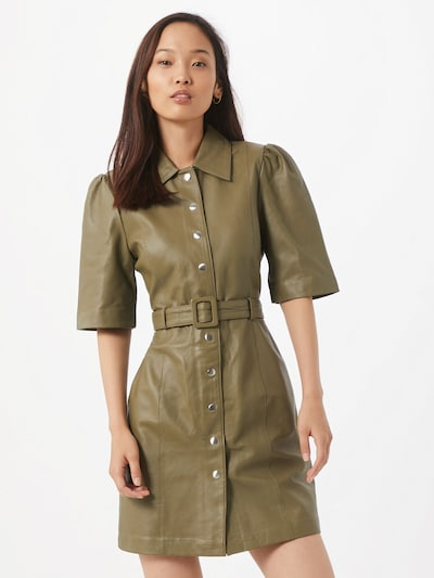 OBJECT Kleid in khaki, Modelansicht