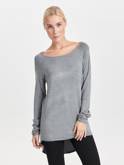ONLY Svetr 'Mila' - šedý melír, Model/ka
