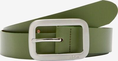 s.Oliver Gürtel in grün, Produktansicht