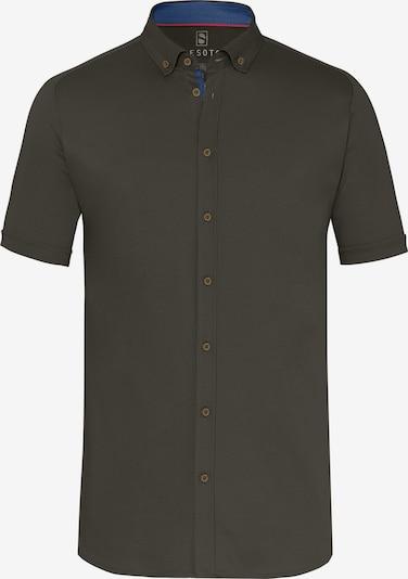 DESOTO Hemd in dunkelgrün, Produktansicht