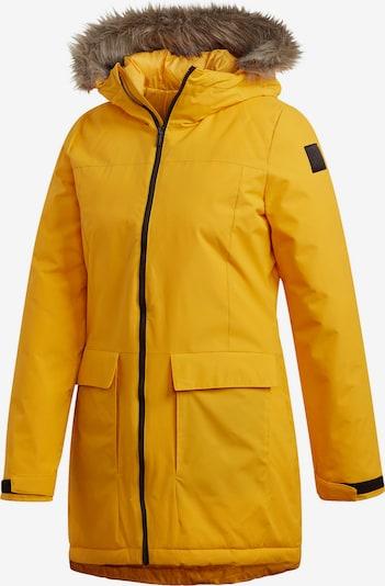 ADIDAS PERFORMANCE Winterjacke 'XPLORIC' in gelb, Produktansicht