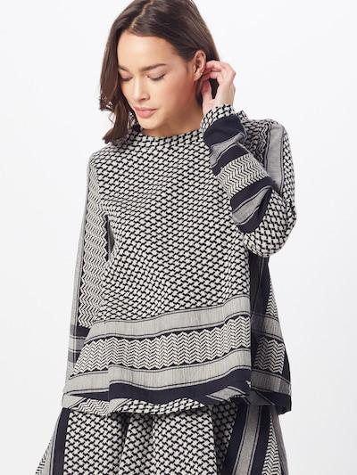 Bluză Cecilie Copenhagen pe negru, Vizualizare model