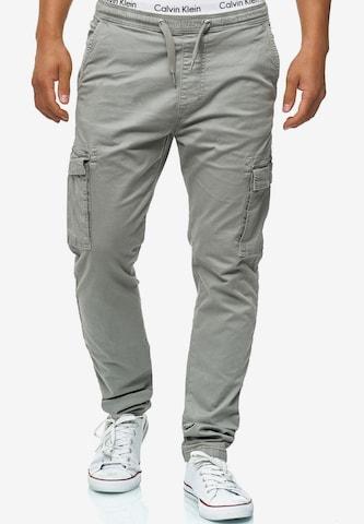 Pantaloni cu buzunare 'Broadwick' de la INDICODE JEANS pe gri