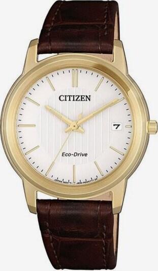 CITIZEN Uhr 'FE6012-11A' in dunkelbraun, Produktansicht