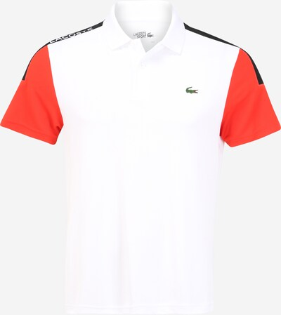 Lacoste Sport Sportshirt in dunkelblau / rot / weiß, Produktansicht