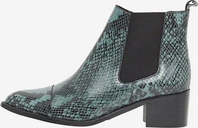 Bianco Chelsea Boots in mint / dunkelgrün, Produktansicht