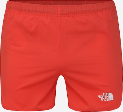 THE NORTH FACE Pantalon de sport en rouge, Vue avec produit