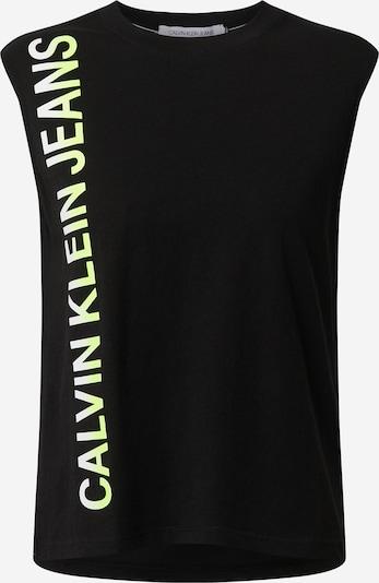 fekete Calvin Klein Jeans Top 'PHOTO PRINT STRAIGHT T-SHIRT', Termék nézet