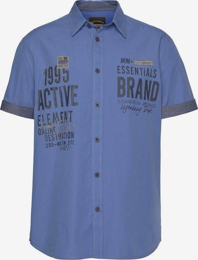Man's World Man's World Kurzarmhemd in hellblau, Produktansicht