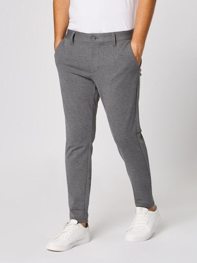 Only & Sons Pantalon 'onsMARK PANT STRIPE GW 3727 NOOS' en gris, Vue avec modèle