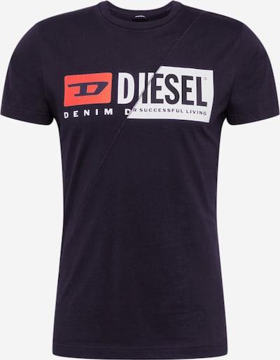 DIESEL Shirt 'T-DIEGO-CUTY MAGLIETTA HEMD' in schwarz, Produktansicht