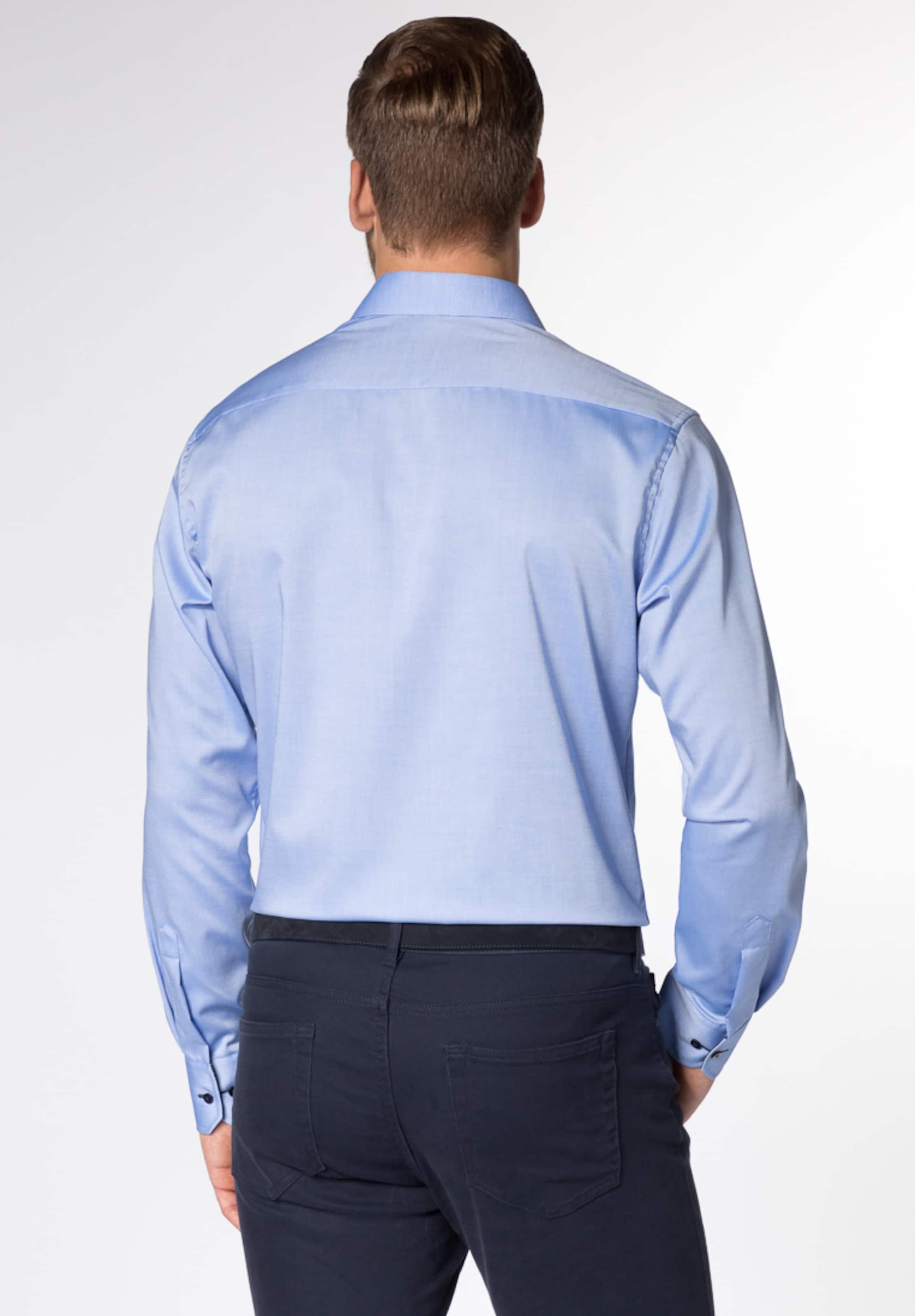 Langarm Eterna Fit Hemd Blau Modern In BQCWrdxoe