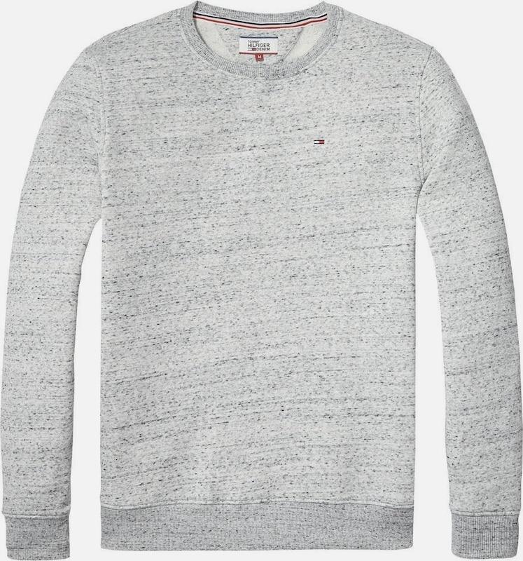 Tommy Jeans Hilfiger Denim Sweatshirt »THDM FLECK CN HKNIT 20«