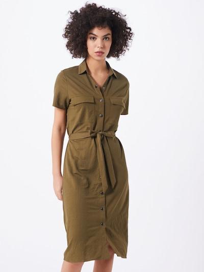 VILA Košilové šaty 'VISAFINA' - olivová, Model/ka