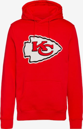 Fanatics Hoodie 'Kansas City Chiefs' in rot / schwarz / weiß, Produktansicht