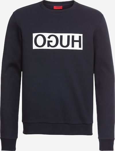 HUGO Sweatshirt mit Icon-Print 'Dicago' in navy, Produktansicht