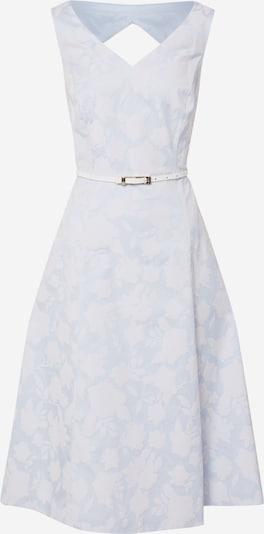 COMMA Robe en bleu clair / blanc, Vue avec produit