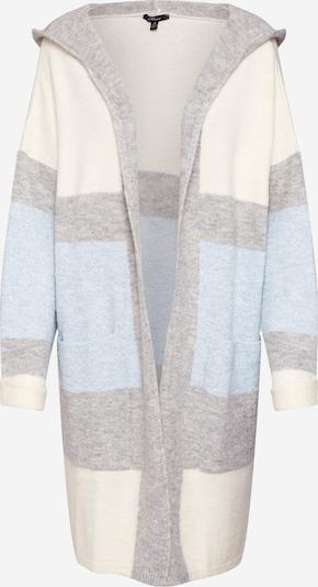 Geacă tricotată 'STRIPE' Mavi pe albastru deschis / gri amestecat / alb natural, Vizualizare produs