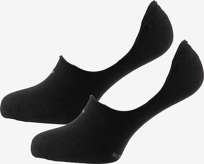 TOM TAILOR Füßlinge in grau / schwarz, Produktansicht
