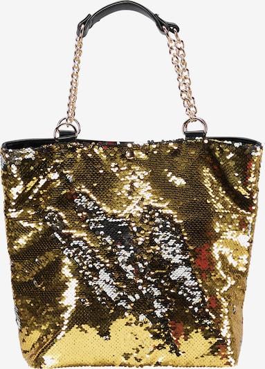 myMo at night Shopper in gold / schwarz, Produktansicht
