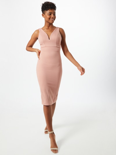 WAL G. Kleid in puder, Modelansicht