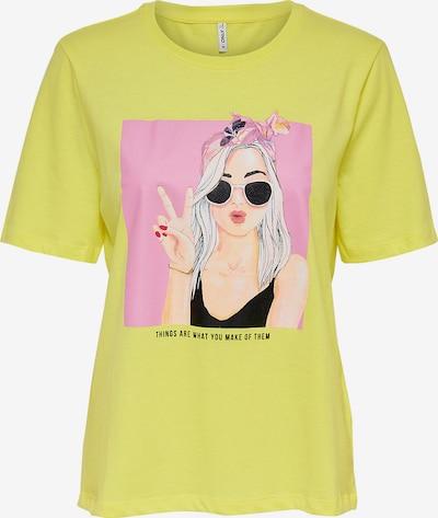 KIDS ONLY Shirt in neongrün, Produktansicht