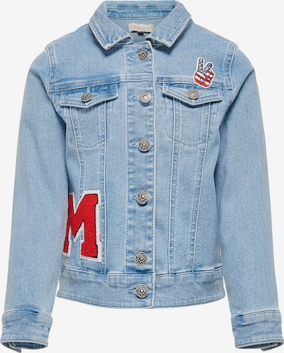 KIDS ONLY Jeansjacke in blue denim, Produktansicht
