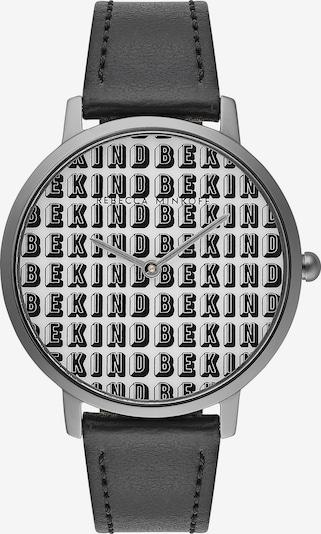 Rebecca Minkoff Uhr 'Major' in schwarz / silber / weiß, Produktansicht
