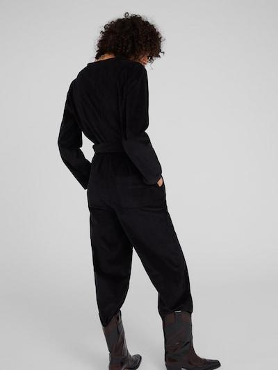 Kombinezono tipo kostiumas 'Gazi' iš EDITED , spalva - juoda: Vaizdas iš galinės pusės