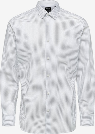 SELECTED HOMME Hemd 'SLHREGPEN-ALEX SHIRT LS B' in weiß, Produktansicht