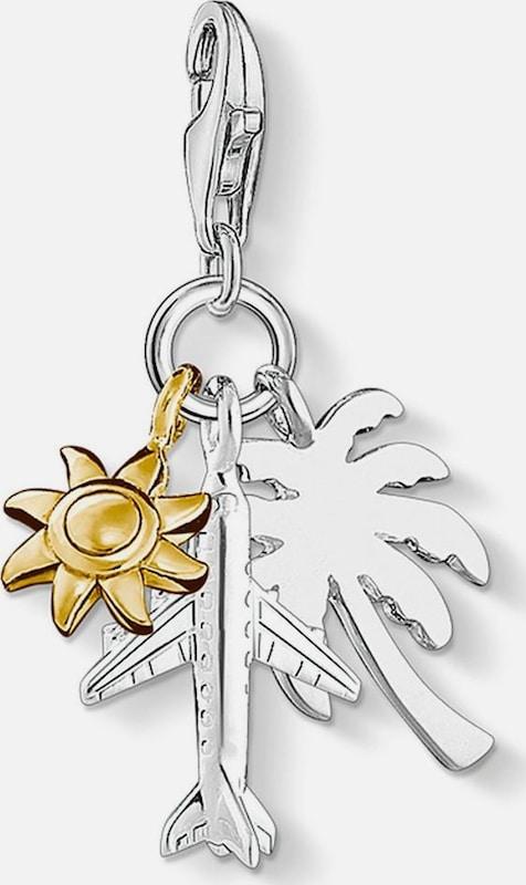 Thomas Sabo Charm-Einhänger 'Palme, Sonne, Flugzeug, 1430-413-21'