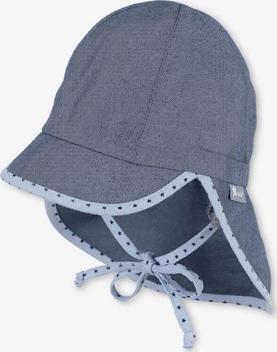 STERNTALER Schirmmütze in taubenblau / hellblau / weiß, Produktansicht