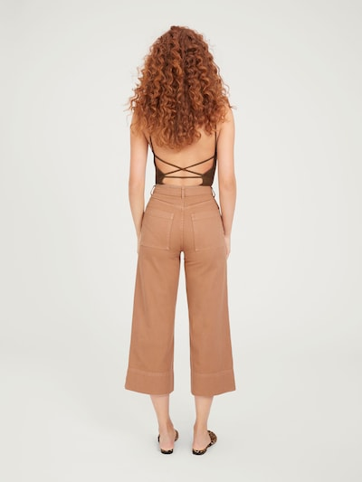 Jeans 'Maddie' EDITED pe maro cămilă / cappuccino: Privire spate