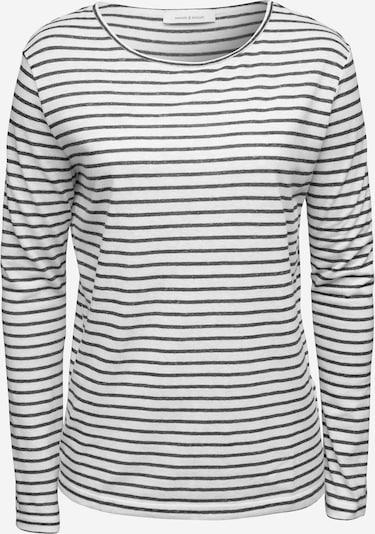Tricou 'Nobel 3173' Samsoe Samsoe pe negru / alb, Vizualizare produs