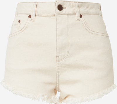 Superdry Jeans 'CUT OFF SHORT' in creme, Produktansicht