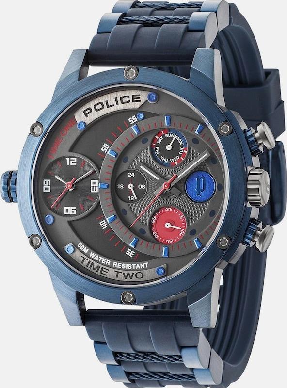 POLICE Multifunktionsuhr 'SUPERMAN - ADDER, PL14536JSBL.SM'