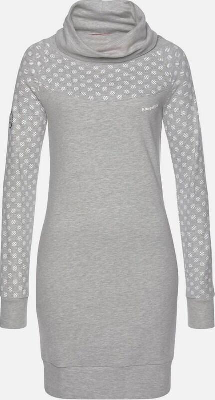 KangaROOS Sweatkleid in grau  Neue Kleidung in dieser Saison