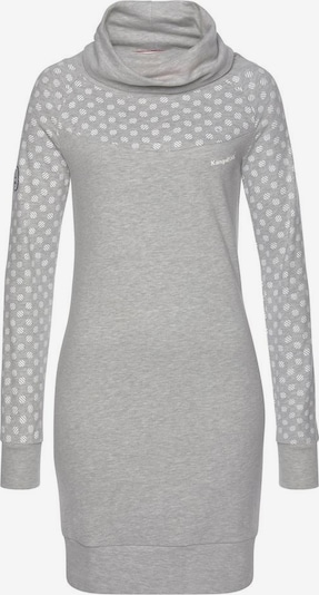 KangaROOS Sweatkleid in grau, Produktansicht