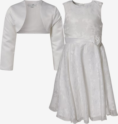 happy girls Kommunionkleid + Bolero in naturweiß, Produktansicht