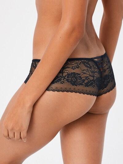 ABOUT YOU Spodnje hlače 'Luise'   črna barva: Pogled od zadnje strani