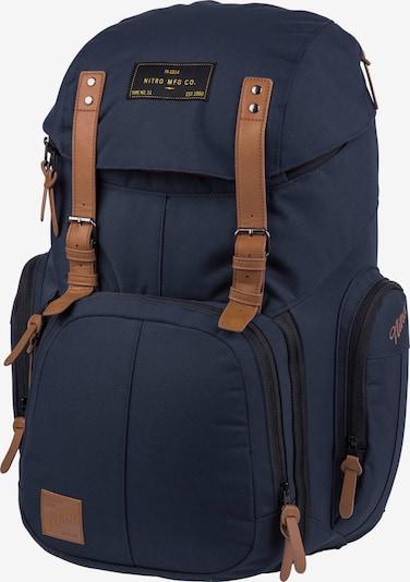 NitroBags Weekender 42L Rucksack in dunkelblau, Produktansicht