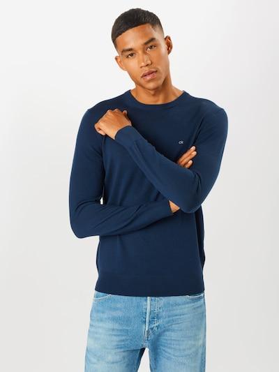 Calvin Klein Pull-over en bleu marine: Vue de face