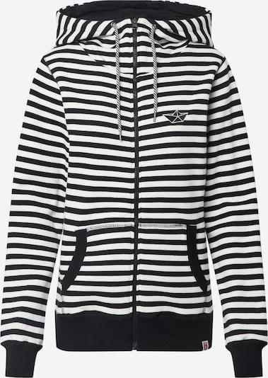Derbe Veste de survêtement 'Easy Sea Oc' en noir / blanc, Vue avec produit