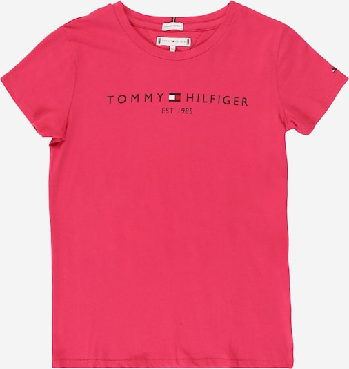 TOMMY HILFIGER Shirt 'ESSENTIAL  TEE S/S' in rosa, Produktansicht