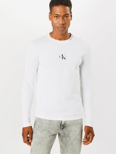 Calvin Klein Jeans Shirt in schwarz / weiß, Modelansicht