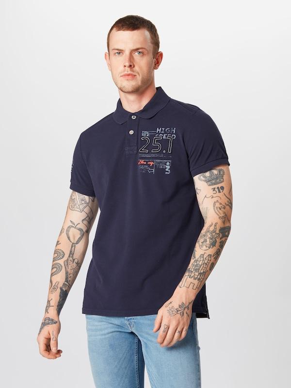 shirt En David Marine Camp Bleu T TJcu51lFK3